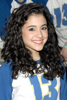 She sports her natural ultra-dark brown hair and fluffy coils during an event at Planet Hollywood as part of the cast of 13 on Broadway.   - MarieClaire.com