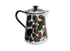 Country Home Vintage Enamelware Coffee Pot or by EyeCandyandMore, $39.99
