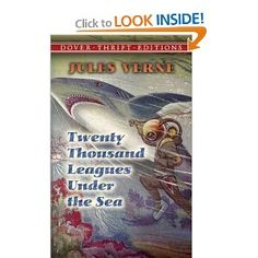 Twenty Thousand Leagues Under the Sea by Jules Verne.  Free read