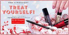 Holiday Julep Polish Box for FREE, Pay $2.99 Shipping – $58 Value