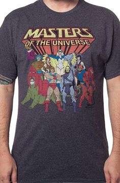 Characters Masters of the Universe Shirt