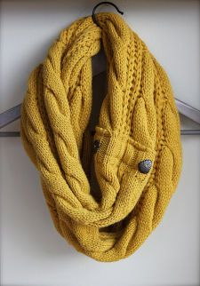 The Perfect Scarf - Cable Knit Scarf