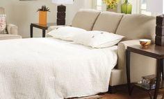 Ashley - Deshan Sleeper Sofa Birch
