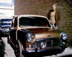 older mini coopers | CON STEVE MCQUEEN E LA SUA MINI COOPER DEL 1967?