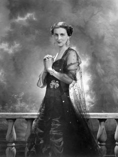 HRH Princess Marina, Duchess of Kent  by Cecil Beaton