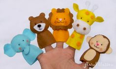 finger puppet patterns | FloralBlossom's Pattern Store on Craftsy | Support Inspiration. Buy ...