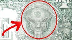 5 Creepy Hidden Messages You Never Noticed In U.S Currency! Occult Symbols, Masonic Symbols, Occult Art, Mythological Creatures, Mythical Creatures, Illuminati, Secret Society Symbols, Aliens, Moorish Science