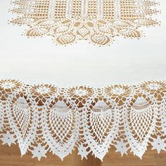 Bring Elegance Of Fine Dining Into Your Home With This Vinyl Lace Tablecloth
