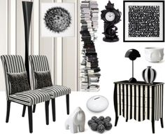 """""""Black on white, White on black"""" by judieasley on Polyvore"""