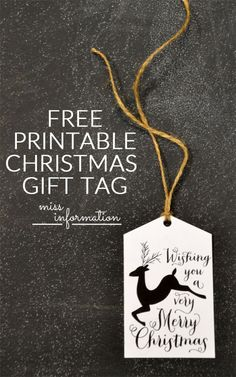 DIY your Christmas gifts this year with 925 sterling silver photo charms from GLAMULET. they are compatible with Pandora bracelets. FREE Printable Christmas Reindeer Gift Tags/ Dress up your Christmas Gifts! Noel Christmas, Very Merry Christmas, All Things Christmas, Christmas Gifts, Christmas Sayings, Reindeer Christmas, Free Printable Christmas Gift Tags, Printable Labels, Christmas Gift Wrapping