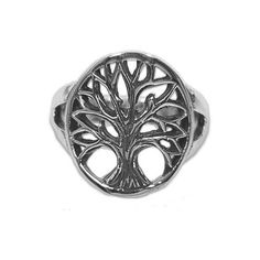 NOVICA Sterling Silver Cocktail Ring Tree Motif from Indonesia ($40) ❤ liked on Polyvore featuring jewelry, rings, cocktail, sterling silver, handcrafted jewellery, crown jewelry, cocktail jewelry, handcrafted rings and sterling silver crown