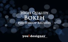 Free High Quality Bokeh Photoshop Brushes