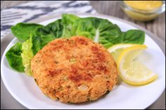 Hungry Girl's Best-Ever Crab Cakes