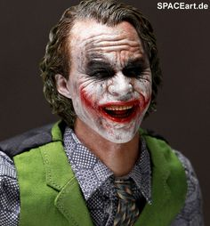Batman - The Dark Knight: Joker 2.0, Voll bewegliche Deluxe-Figur ... http://spaceart.de/produkte/bm010.php
