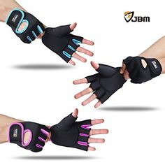 JBM Cycling Gym Gloves Fingerless Hand Protector Safe Breathable Lightweight Comfortable Adjustable Durable Cool for Road Biking Motor Racing Cycling BMX Bicycle Riding Mountain Bike Climbing Inline - http://mountain-bike-review.net/products-recommended-accessories/jbm-cycling-gym-gloves-fingerless-hand-protector-safe-breathable-lightweight-comfortable-adjustable-durable-cool-for-road-biking-motor-racing-cycling-bmx-bicycle-riding-mountain-bike-climbing-inline/ #mountainbike
