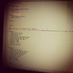 A little code never hurt anyone.  #webdesign  #wip  #css  #love  #igers  #instapic  #instagood  #instagram  #instamood  #instadaily  #instagramhub  #instagrammers  #picoftheday  #photooftheday  #webstagram  #ewave #magento #MagentoAustralia #MagentoSydney  #ecommrce #ecommerceSydney #webdesign