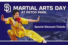 9/7/13 is Martial Arts Day @ Petco Park! Discount tickets and live Demo by AKA American Open Team! Check out our website for more information! #akaamericanopen #padres #martialarts http://www.akaamericanopen.com/padres.shtml