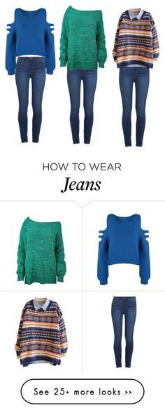 """Jumpers + skinny jeans = perfect outfit"" by rita65 on Polyvore featuring Paige Denim, WearAll, skinnyjeans and Jumpers"