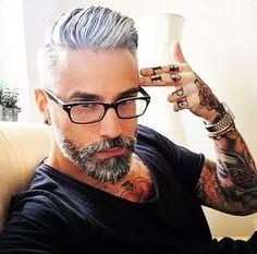 #handsome #beardedbasturd #Scotland #killtheshave #beardsofinstagram #style #fashion #tattoos #glasses