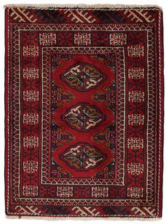 Μπουχάρα - Turkaman Περσικό Χαλί 85x60