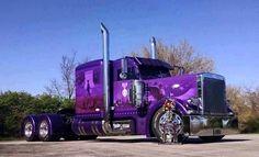 Peterbilt 359, Peterbilt Trucks, Customised Trucks, Custom Trucks, Show Trucks, Big Rig Trucks, Custom Paint Jobs, Amazing Cars, Rigs