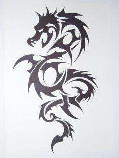 dragon tatoo by ~kenofchaos on deviantART