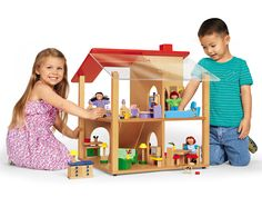 Play-All-Around Dollhouse