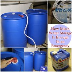 The Homestead Survival   How Much Water Storage Is Enough In an Emergency…
