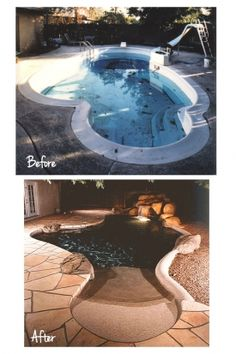 Pool Resurfacing Casa Grande AZ - Dolphin Pools is one of the best companies for Pool Repair Casa Grande AZ, Pool Resurfacing in Arizona. Call us today at Beach Entry Pool, Pool Remodel, Luxury Pools, Small Pools, Dream Pools, Swimming Pool Designs, Cool Pools, Pool Landscaping, Pool Houses