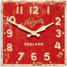 Ministry wall clock.  Royal Museums Greenwich.  http://shop.rmg.co.uk