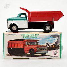 ASAHI Chevrolet Dump Truck OVP | cyan74.com vintage & pop culture