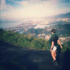 Vista da Barra da Tijuca a partir da Pedra Bonita - Rio de Janeiro, Brasil