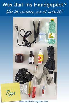 Was darf ins Handgepäck? Was ist verboten, was ist erlaubt? Polyvore, Blog, Fashion, Dime Bags, Tips, Moda, Blogging, Fasion, Trendy Fashion