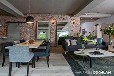 Estancia: Comedores de estilo Industrial por MARIANGEL COGHLAN