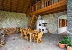 Köveskál - tervező: Mérmű Építész Stúdió Porch, Chata, Architecture, Outdoor Decor, Home Decor, Travel, Balcony, Arquitetura, Decoration Home