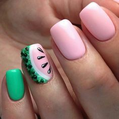 Latest Nail Ideas For Summer 2016 Style You 7 Watermelon Designs Nails