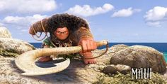 Dwayne Johnson in Moana (2016)