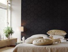Subtle accent wall