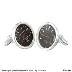 Shop Classic 911 speedometer (old air-cooled car) cufflinks created by techvinci. Super Cars Images, Mens Suit Accessories, Designer Cufflinks, Automotive Art, Automotive Group, Windshield Washer, Vintage Trends, Car Shop, Amazing Cars
