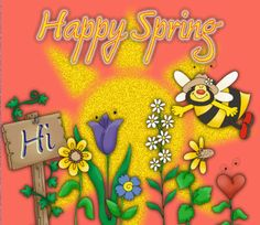 Happy Spring Pictures and Images Springtime Quotes, Springtime Pictures, Spring Images, Spring Pictures, 1st Day Of Spring, Spring Fever, Spring Time, Spring 2014, Spring Cartoon