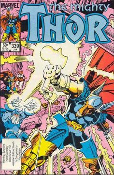 The Mighty Thor 339 Beta Ray Bill get his own hammer Walt Simonson Marvel comics group