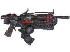 Gears of War 3 Locust Hammerburst II Full Scale Replica - Gears Of War Weapons & Replicas