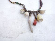 ON TEMPORARY HOLD Artisan Necklace by greybirdstudio on Etsy