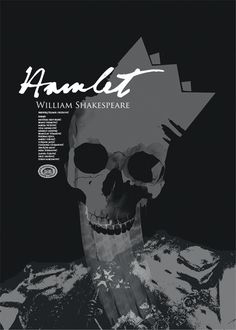 Theater Poster by Borko Neric, via Behance