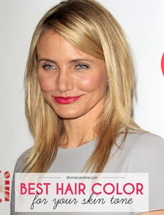 Check out our picks for the best hair colors for your skin tone. #divinecaroline #hair