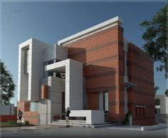 Building Elevation, House Elevation, Single Floor House Design, Modern Bungalow Exterior, Render Design, Minimalist Architecture, Decoration, House Plans, Mansions