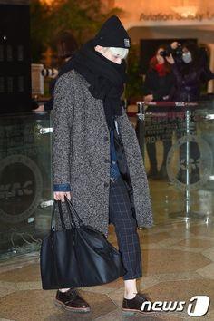 [AIRPORT] 151207 BTS Suga (Min Yoongi)