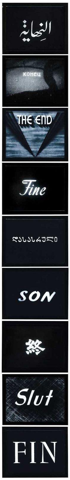 Alexander Gutke (b. 1971) 9 Ways To Say It's Over