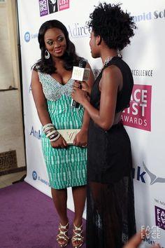 Jackie Appiah in Jil by Adoley Addo | Kente Fashion | Ghana Fashion | African Fashion