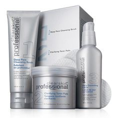 Clearskin® Professional Acne Treatment System by Avon Skin Care acne care Acne Blemishes, Acne Skin, Acne Scars, Oily Skin, Lotion, Avon Brochure, Pore Cleansing, Avon Online, Exfoliant